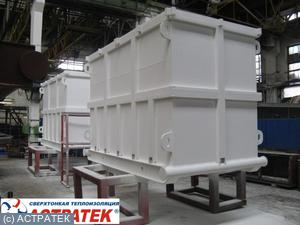Water tanks for drilling rigs, Volgograd